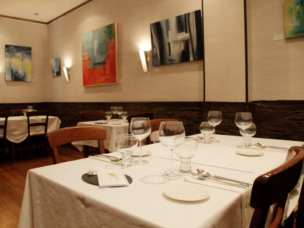 Restaurante La Senda en 2012
